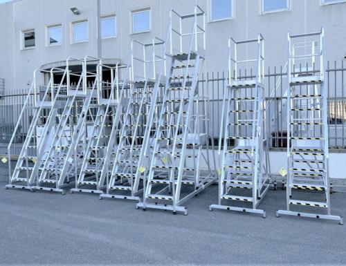 Scaletti in alluminio