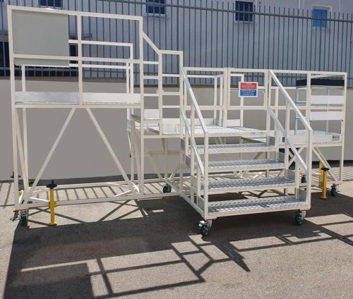 Bombardier stabilizer platform