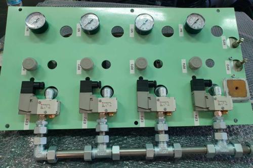 Trenitalia pneumatic panel